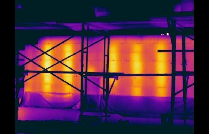 Blockwall4 0 0 - Infrared Block Wall Scan