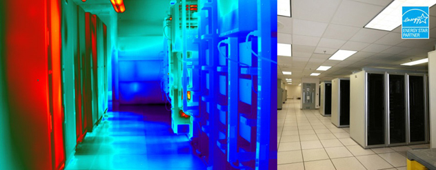 DataCentIR Home page top image - Data Center Infrared