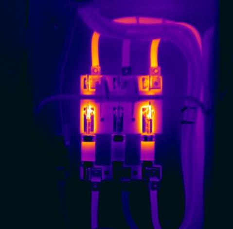 Disconnect switch Infrared Imaging Services LLC 1 - Electrical Infrared