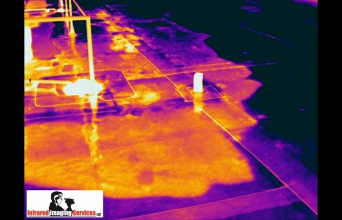 IRINFO 2012 Image Contest Winner Trapped moisture in EPDM roof.preview 0 - Commercial Infrared Inspection