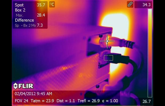 IR 0019 0 0 - Data Center Infrared Inspection