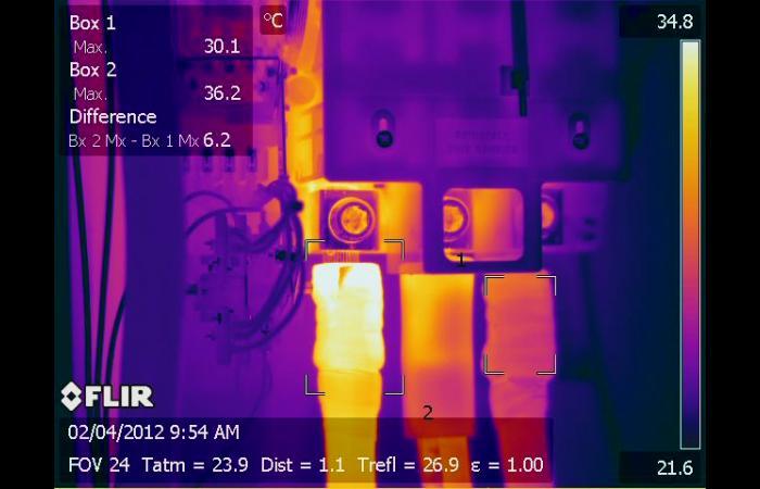 IR 0023 1 1 - Data Center Infrared Inspection