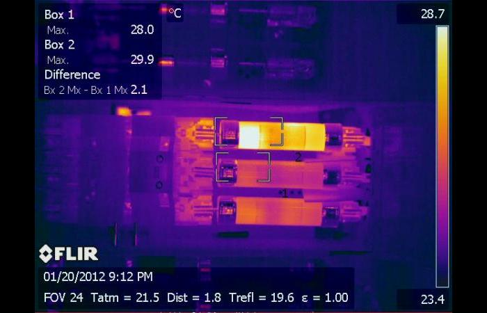 IR 0107 0 0 - Infrared Electrical Inspection