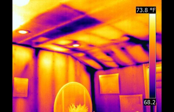 Missing insultion in walls 0 - Building Infrared Inspection