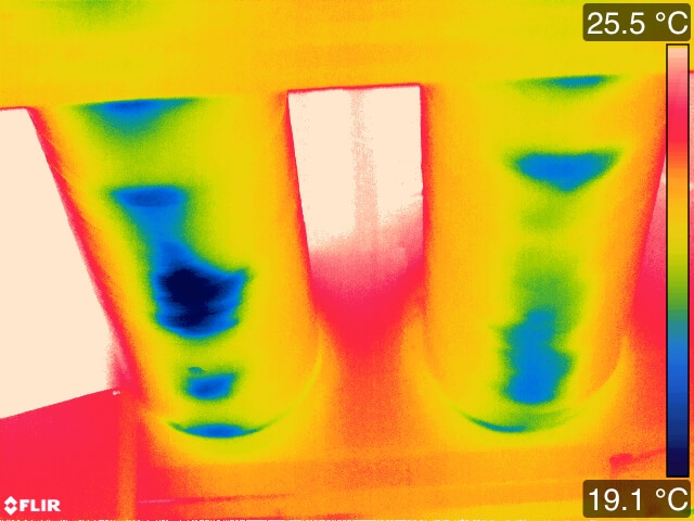PIpe condensation 0 1 - Infrared Mechanical Inspection