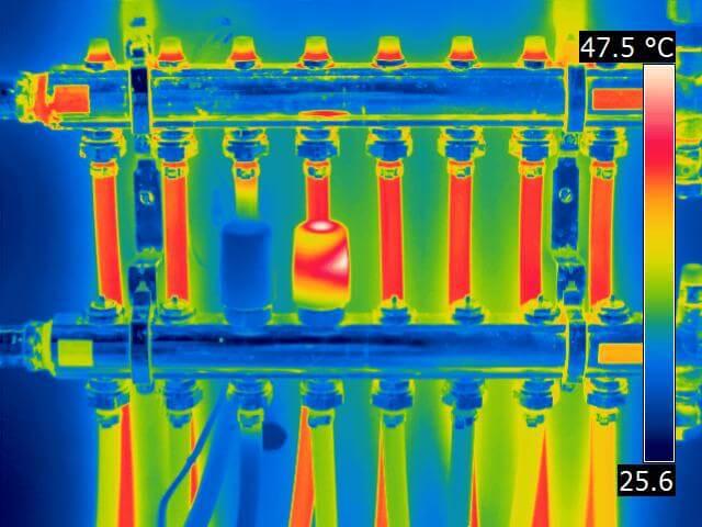 Radiant heat zone valve bad 1 - Radiant Heat Leak Detection