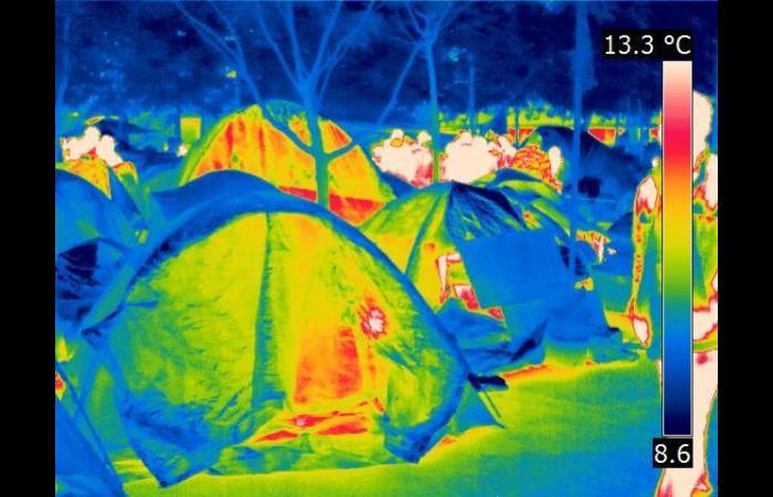 Tent 2 0 - Infrared Art