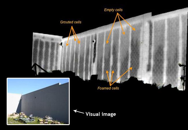 blockwallimage1 0 - Block Wall Scan Infrared